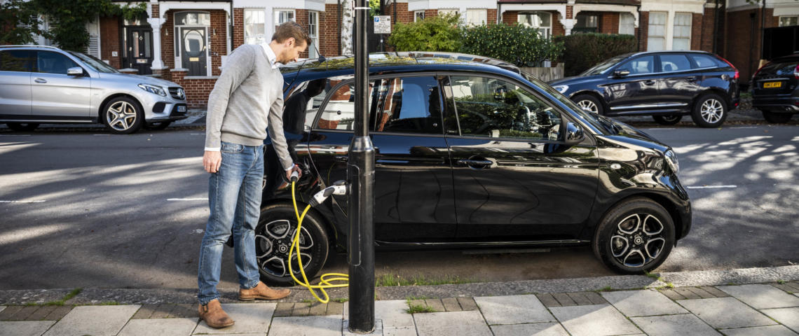 How to get EV charge points in your street