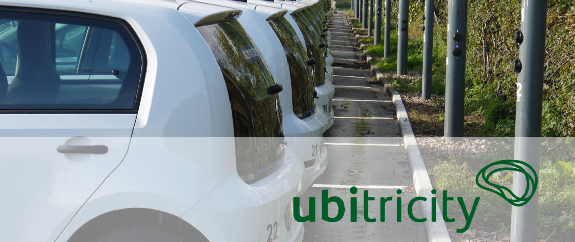 The first ubitricity lamp post-integrated charge points in France