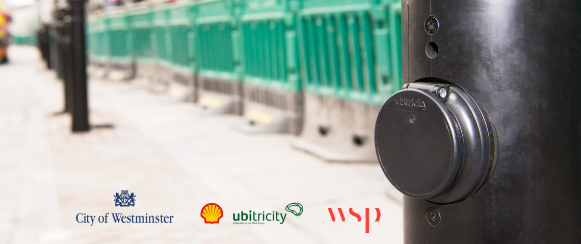 Westminster City Council installs ubitricity charge points to solve power supply challenges for open air street markets